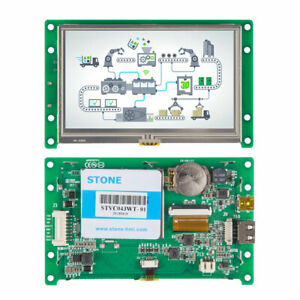 Stone Intelligent 4 3 Tft Lcd Module And Touch Control With Uart Port