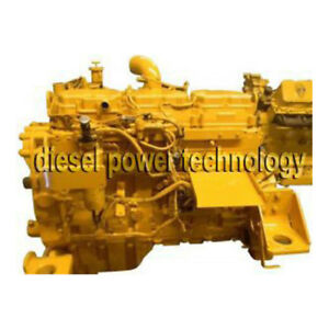 Caterpillar 3176 Remanufactured Diesel Engine Long Block