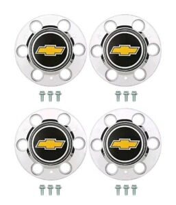 Chevy Gmc 6 Lug 15x8 15 Truck Rally Wheel Center Hub Caps Bolt On Hubs 4wd k10