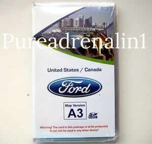 2012 Ford Edge Se Limited Sport Utility Myford Navigation Sd Card Map A3 Canada