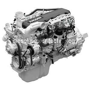 Paccar Mx13 Remanufactured Diesel Engine Long Block Or 3 4 Engine