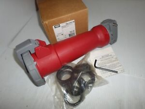 new In Box Hubbell Hbl4100c7w 100 amp Pin sleeve Connector 4100c7w 100a 480v