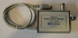 Agilent Hp 85027a Directional Bridge 10 Mhz To 18 Ghz