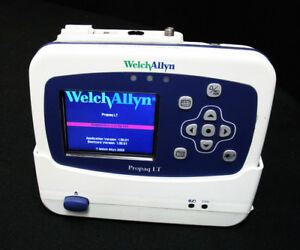 Welch Allyn Propaq Lt Vital Signs Monitor Emt W Cradle Power Supply Complete