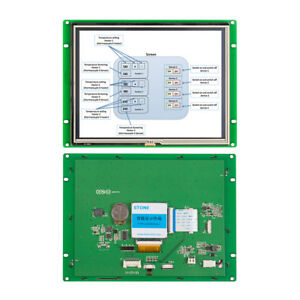 Stone 8 Colorful Tft Lcd Touch Control Panel For Engineering Machinery