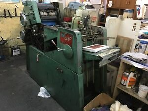Printing Press Chief 15 One Color