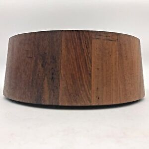 Vintage Mcm Dansk Designs Ihq Teak Wood Salad Serving Bowl Denmark 10 75 Wd2