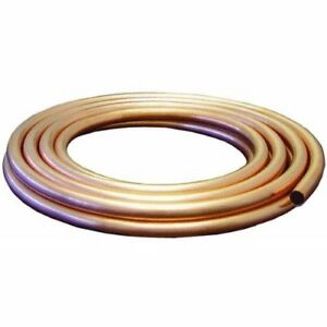 Mueller Industries Gidds 203326 Copper Tubing Boxed 1 2 Od X 25