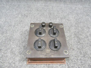 Vintage Leeds Northrup Co 307088 Wheatstone Bridge Tester Set