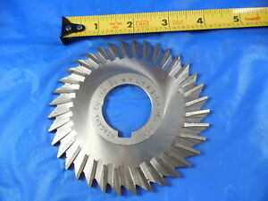 Niagara 4 O d 1 1 4 I d 1 8 Thick Metal Slitting Saw Straight Tooth 36 Teeth
