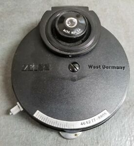 Zeiss Microscope Phase Condenser