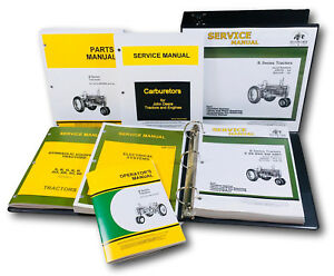 Service Parts Operators Manual John Deere B Bn Bw Bwh Bnh Styled Tractor 201 up