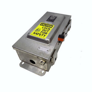 Square D Hu362ds 60a Ss Stainless Safety Disconnect Switch W Square D Ek306 1