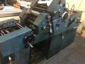 Used Offset Printing Press