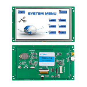 7 Inch Hmi Tft Lcd Display In Video Touch Module