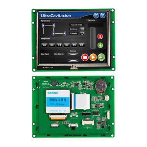 5 6 Inch Tft Lcd Display With Controller program touch uart Serial Interface