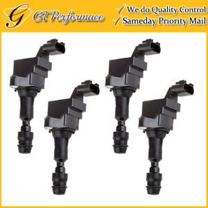 Oem Quality Ignition Coil 4pcs For Buick Chevy Pontiac Saab Saturn 2 0 2 4l