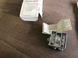 1x Cutler hammer E30eb Compact Pushbutton Operator W Indicator Light Nos