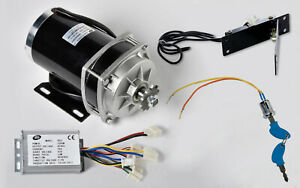 1000w 48 V Dc Gear Reduction Electric Motor rev Controller foot Throttle keylock
