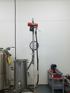 Jacketed Mix Tank With Stand And Mixer
