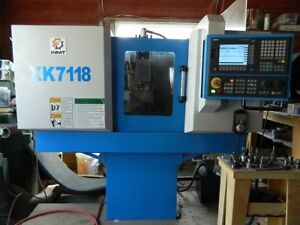 Cnc Milling Machine Xk7118 4 axis Covered Cnc Vertical Machining Center