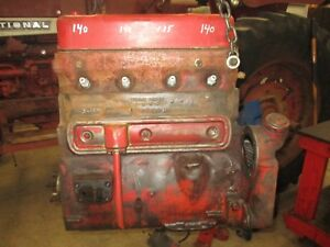 1955 Ih Farmall 300 Utility C169 Running Long Block Nice Antique Tractor
