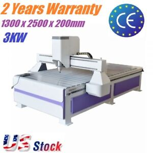 51 X 98 Usb 3 Axis 1325 Cnc Router Wood Engraving Drilling Milling Machine