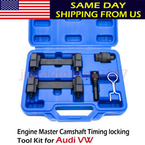 Engine Timing Camshaft Locking Tool Kit For Audi Vw T40058 T40069 T40070 T40071