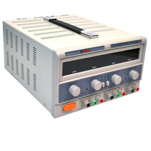 Dr meter Hy3005f 3 Dc Regulated Power Supply 3 output 30vdc 5a Led Display