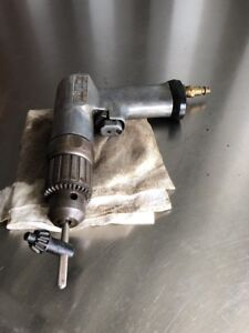 Snap On Air Drill Pdr3a Usa 3 8 Reversible Chuckless Air Drill