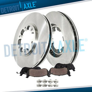 Front Disc Brakes Rotors Ceramic Pads For 2000 2002 2003 2004 Nissan Xterra