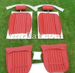 Jaguar Xke S3 5 3 Coupe Leather Front Seat Restoration Kit 1971 75 New