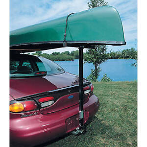 Canoe Kayak Hitch Mount Loader Steel One Person Car Suv Truck Vehicle Roof Load