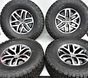 2004 2018 Ford F150 Raptor 17 Factory Oem Alloy Wheels And Tires Hl3v1007ac