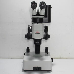 Leica Wild M10 Stereo Zoom Microscope W Photo Tube Plan Apo 0 63x