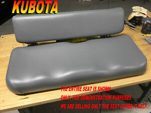 Kubota Rtv900 New Seat Cover 2006 10 Rtv 900 Gray 982a