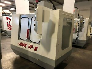 1994 Haas Vf 0 With Hrt310 4th Axis Rotary