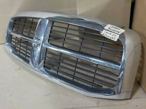 Oem Chrome Trim With Emblem Dodge Ram 1500 06 07 08 09 Grill Grille B9a