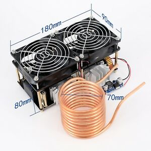 1800w Zvs Induction Heating Board Module Driver Heater Durable Input 12v 48v New