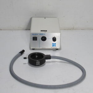 Volpi Intralux 4000 1 Microscope Fiber Optic Lgiht Source With 66mm Light Ring