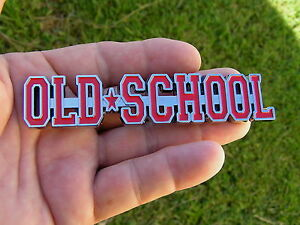 Old School Car Emblem Red New Suit Ford Fairlane Customline Falcon F100 Sprint