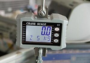 Us 1000kg 1ton 2000 Lbs Digital Crane Scale Heavy Duty Hanging Scale Ocs s