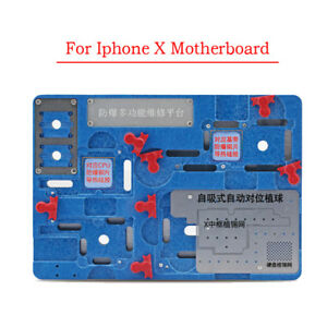 Circuit Board Pcb Holder For Iphonex Motherboard Jig A11 Ic Chip Repair Tool Kit