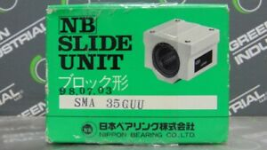 New Nippon Bearing Linear Bushing Slide Unit Sma 35guu