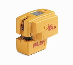 Pls 4 Red Cross Line Laser Level With Plumb Bob And Pls 60588 By Pacific Systems