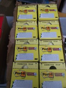 Post it Super Sticky 3x3in Cabinet Pack 24 Packs 90 Notes Each Case Of 8 New