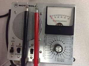 Vintage Motorola Micor Station Metering Kit Tln1857a With Cables
