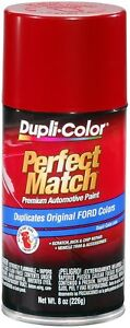 Dupli color Ebfm01887 Candy Apple Red Ford Exact match Paint 8 Oz Aerosol