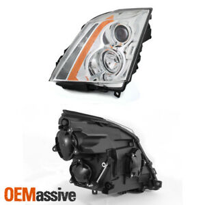 2008 2013 Cadillac Cts Chrome Left Driver Side Only Projector Headlight