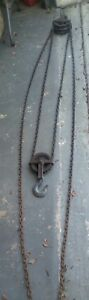 Hoist 1 4 Ton Differential Chain Block Pulley Set Usa
